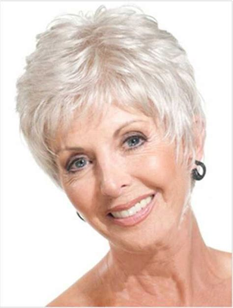 15 best short hair styles for women over 60 short