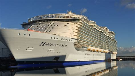 largest cruise ship being built exclusive inside the largest cruise ship ever built