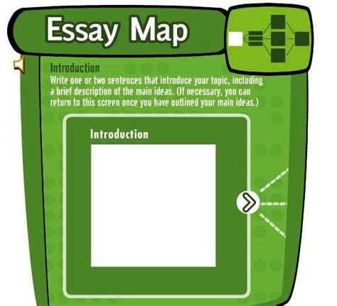 Essay Map Exle by Essay Map