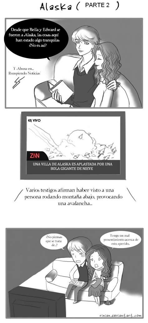 dibujos de la saga crepusculo: comic- alaska 2
