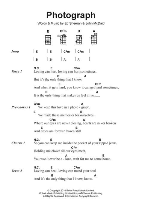 photograph strumming pattern photograph partituras por ed sheeran letras y acordes