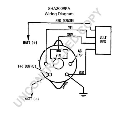 motorcraft voltage regulator wiring diagram wiring