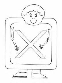 Galerry letter a coloring page