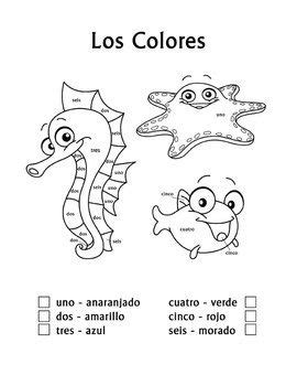 spring coloring pages in spanish spanish learning images words on easter color by number