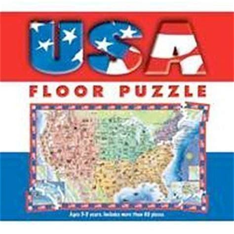Usa Floor Puzzle by Usa Floor Puzzle Five Mile Press Toys