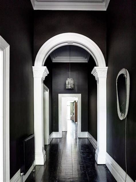 black and white interiors 17 best ideas about black ceiling on