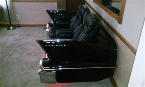 car couch for sale 1958 cadillac reclining car couch for man cave car sofa