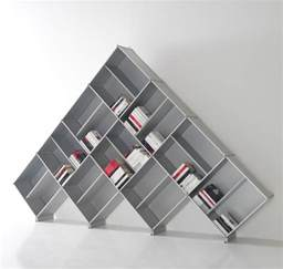Asymmetrical Bookcase Decoration Ideas Modern Style For Simple Bookshelf Design