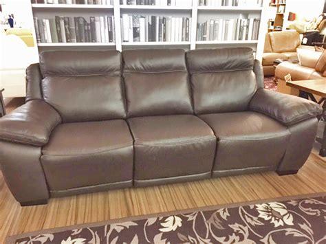Natuzzi Reclining Sofa Natuzzi Reclining Leather Sofa