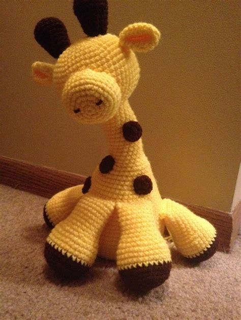 amigurumi love pattern gerard the giraffe amigurumi crochet free pattern