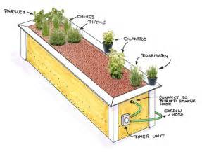 raised herb garden design photograph this is a very basic