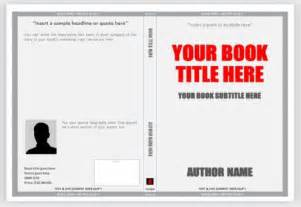 Book Template For Word by Creating A Book Cover In Microsoft Publisher Calendar