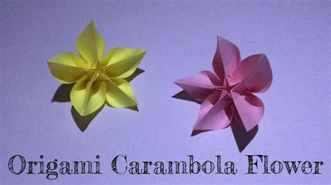 How To Make A Small Origami Flower - how to make a small origami flower 28 images how to