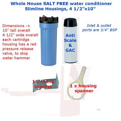 Salt Bath Odour Repellent 3 whole house slimline salt free water softener taste odour
