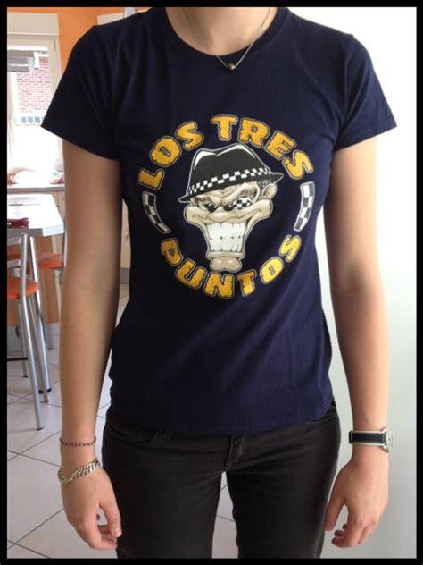 Tshirt Ska 07 t shirt ferdinand bleu los tres puntos