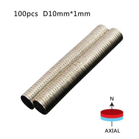 Strong Neodymium Magnet Ndfeb N50 100pcs 100pcs lot 10 1mm powerful strong earth block ndfeb magnet neodymium n50 magnets in