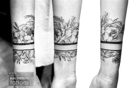 tattoo flower band best tattoo studio in india tattoo artist ahmedabad
