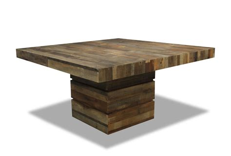 Living Spaces Kitchen Tables by Tahoe Ii 58 Inch Square Dining Table Living Spaces