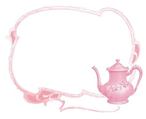 graphics monarch printable vintage teapot label