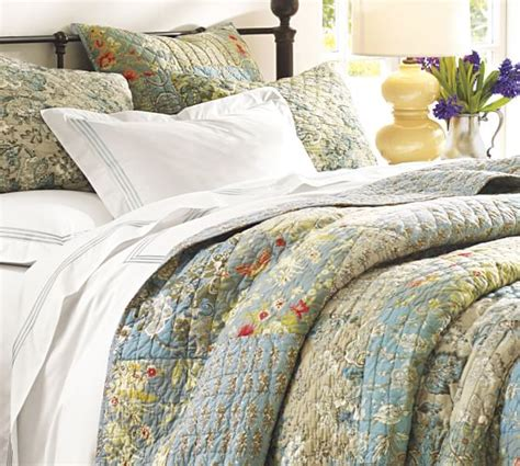 Pottery Barn Quilts by Neena Patchwork Quilt Sham Pottery Barn