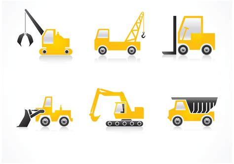 Orange Paint by Free Construction Vehicles Vector Icons Download Free