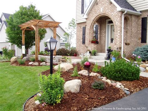 Midwest Landscaping Ideas Front Yard Amys Office Intended by Small Front Yard Landscaping Ideas Townhouse
