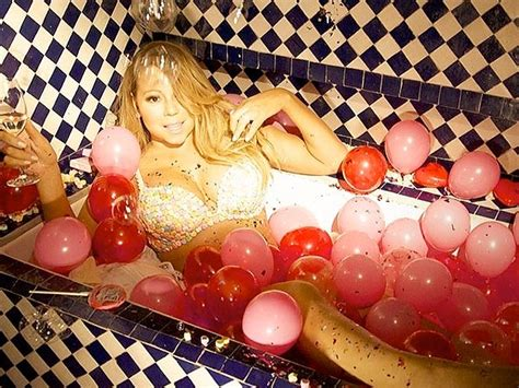 mariah carey bathtub mariah carey s valentine s day stripped down in a bathtub people com