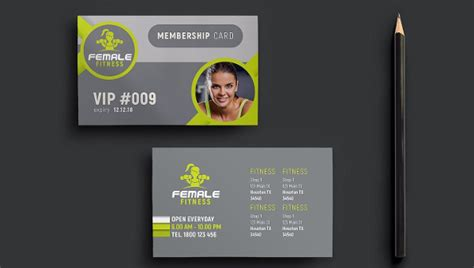 fitness business card templates free 22 business cards free premium psd ai format