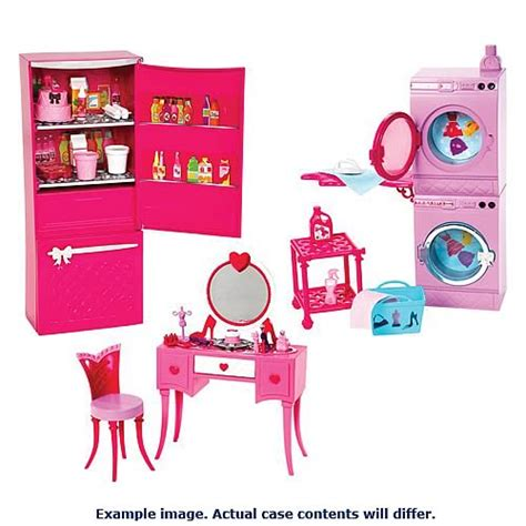 barbie glam bedroom barbie glam furniture playset case mattel barbie