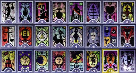 Printable Persona Tarot Cards | persona arcana cards highres by serafiend on deviantart