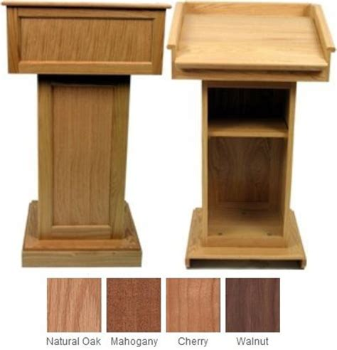 lectern plans  woodworking