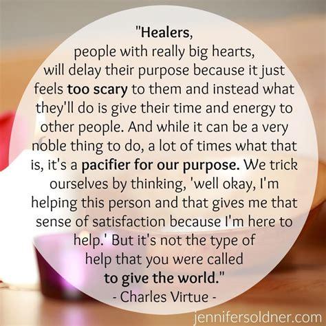 healers empaths charles virtue jennifer soldner