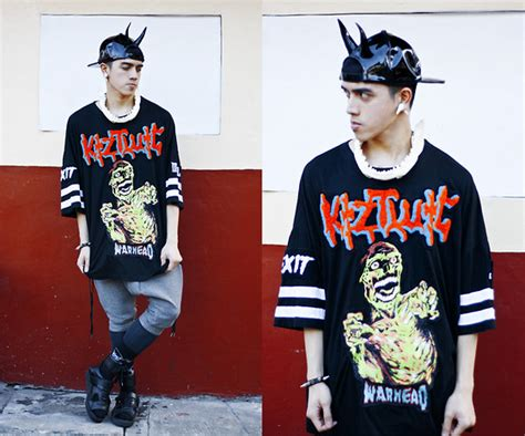 Jaket White 13 By Wannabe Id bobby raffin diy h8 bit graphic unif holographic