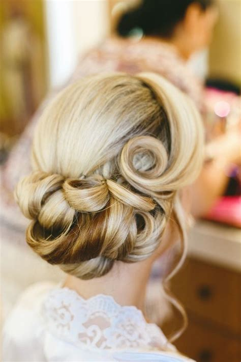 Vintage Wedding Guest Hair by Utterly Chic Vintage Wedding Hairstyles Livingly