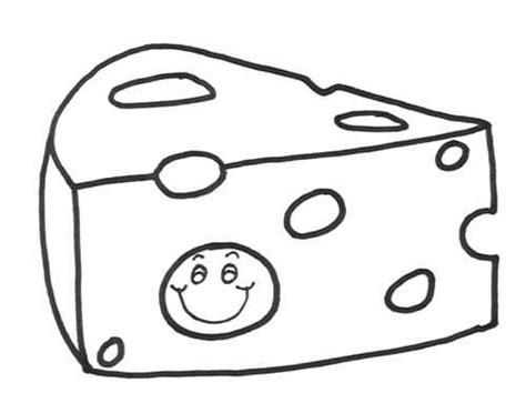 Cheese Slices Coloring Sheet Coloring Pages Cheese Coloring Pages