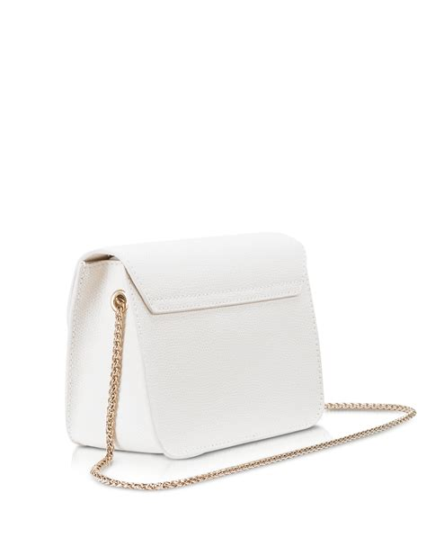 Furla Metropolis Mini Crosbody Include Box furla metropolis chalk leather mini crossbody bag in white