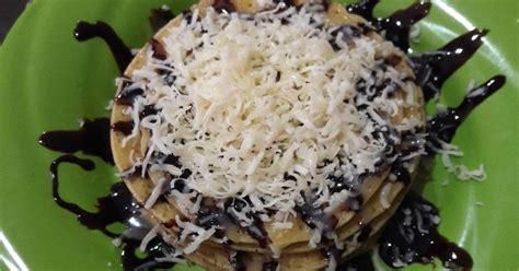 Teflon Yg Bagus resep pancake coklat keju ala niezz oleh niezz fatma cookpad