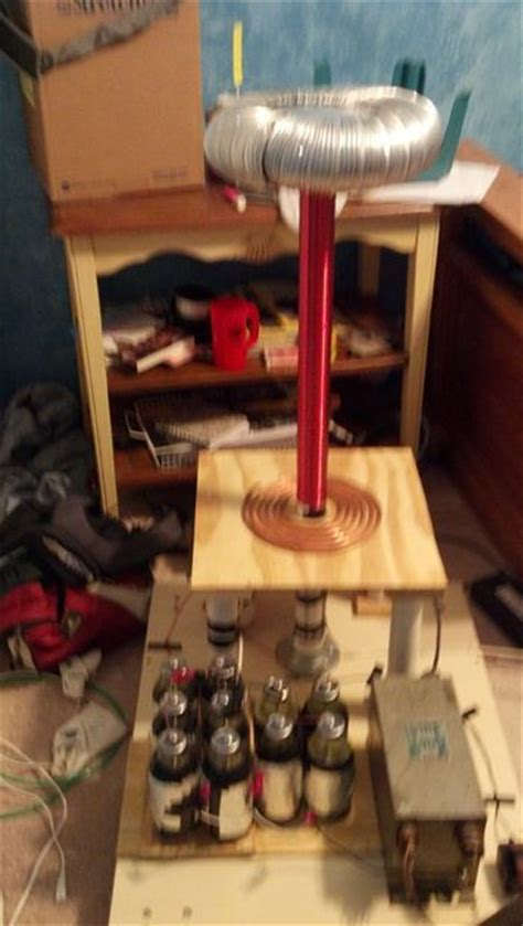 Tesla Coil Science Fair Project The Simple Tesla Coil The O Jays Simple And Diy And Crafts