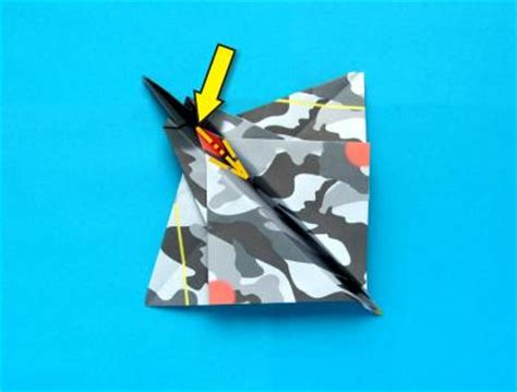 origami stunt plane joost langeveld origami page