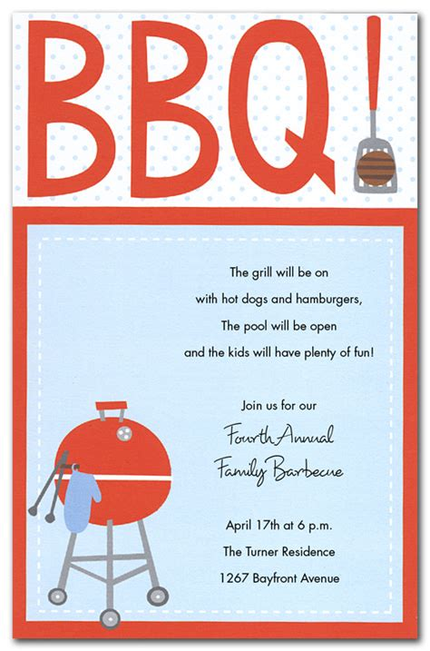 Bbq Invitation Templates bbq flyer templates free printable search results