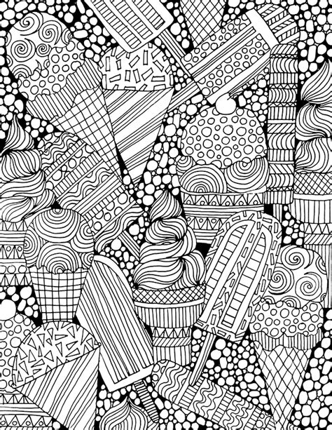 ice cream coloring pages for adults alisaburke free coloring page for you