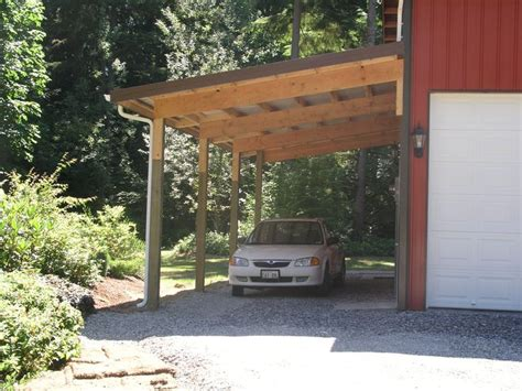 attached carport ideas best 25 enclosed carport ideas on pinterest modern