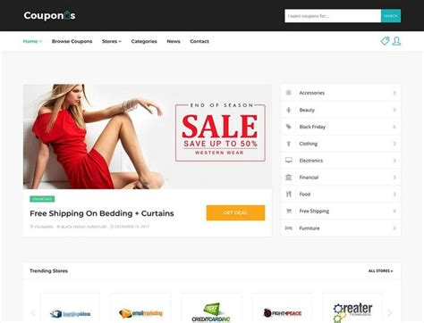 top 10 wordpress theme generator now lets create your own 20 best coupon wordpress themes deals discounts