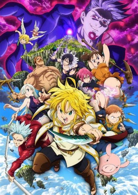 Anime 7 Deadly Sins Season 3 by The Seven Deadly Sins Season 3 Release Date On Netflix