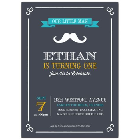 Baby Shower Napkins by Little Man Mustache 1st Birthday Party Invitations
