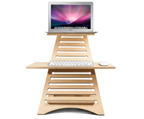 Elevate Portable Standing Desk To Improve Blood Flow And Portable Standing Desk