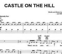 ed sheeran castle on the hill chord sheet music free download and print free sheet music