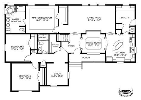 clayton mobile home floor plans an option for a basement clayton homes home floor