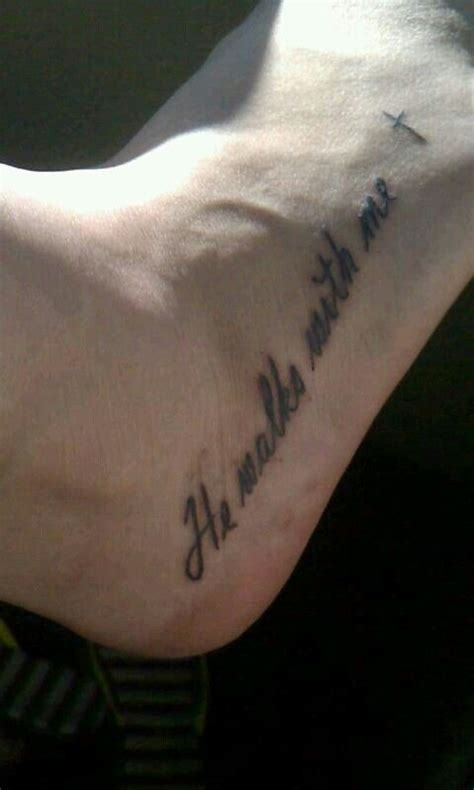 he walks with me tattoo 17 best images about tattoos on memorial