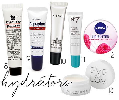 9 Of My Favorite Lip Products by Lip Savers Products To Keep Your Pout Happy This Winter